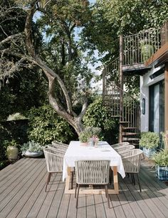 Shalini Misra's house in north London | House & Garden Contemporary Art London, Outdoor Rooms, Outdoor Decor, Brick Paving, Timber Deck, London Garden, London House, Wooden Decks, Backyard
