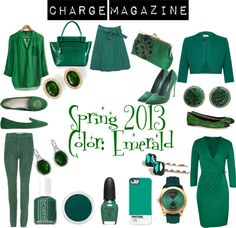 """Emerald City!!"" by chargemagazine on Polyvore"