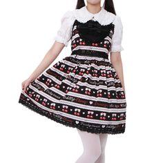 http://www.wunderwelt.jp/products/detail2428.html ☆ ·.. · ° ☆ ·.. · ° ☆ ·.. · ° ☆ ·.. · ° ☆ ·.. · ° ☆ Cherry Striped Dress BABY THE STARS SHINE BRIGHT ☆ ·.. · ° ☆ How to order ☆ ·.. · ° ☆ http://www.wunderwelt.jp/blog/5022 ☆ ·.. · ☆ Japanese Vintage Lolita clothing shop Wunderwelt ☆ ·.. · ☆ #btssb