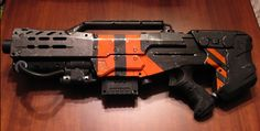 District 9 inspired Nerf repaint