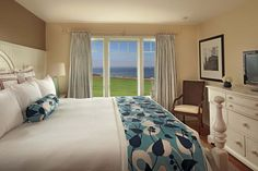 Gorgeous bedrooms at the Flume Cottage at the Samoset
