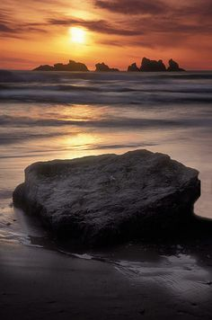 Sunset - Bandon Beach, Oregon