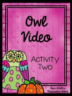Fern Smith's Classroom Ideas: Tuesday Teacher Tips: Can't Celebrate Halloween At School? Throw an Owl Party Instead!