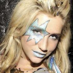 Rock n roll blue glisten