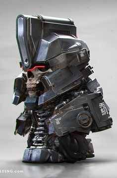 Metal Head 05 - by jarold Sng