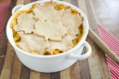 Butternut Squash and Lentil Pot Pie - Can be made Vegan by using earth balance butter and tofutti cream cheese