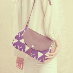 made from vintage kimono fabric!