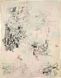 cinoh:    Paul Klee German, born Switzerland, 1879-1940  Study Sheet, c. 1914