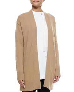 Analiese Long Cashmere Cardigan by Theory at Neiman Marcus.