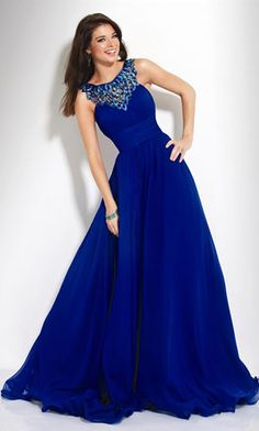 long prom dress  /\ this would be me. Bending over so my friends don't feel short Long Dress Tumblr, Dark Blue Prom Dresses, Prom Dresses 2015, Modest Dresses, White Wedding Dresses, Blue Wedding, Nice Dresses, Evening Dresses, Dream Wedding
