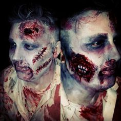 Zombie makeup by me
