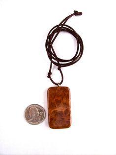 Wood Pendant Wood Jewelry Redwood Burl Pendant by GatewayAlpha, $14.95
