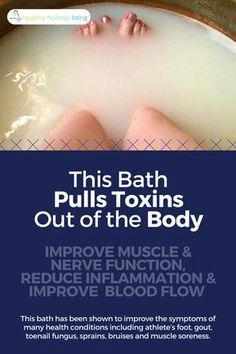 Get the most out of your bath time by using Epsom salts which use reverse osmosis to clean the skin and treat health conditions. However, make sure you don't use too much salt and you don't bathe too long. Discover what will work for you, and have better baths today! #saltbath #epsom #toxins #healthyliving