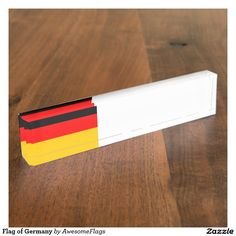 Flag of Germany Desk Nameplate