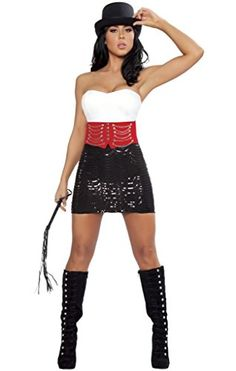 Sexy Ringmaster Girl Halloween Costume - Click image twice for more info - See a larger selection  of women's animal costume at http://costumeriver.com/product-category/womens-animal-costumes/ -  holiday costume , event costume , halloween costume, cosplay costume, classic costumes, scary costume,animal costumes, classic costumes, clothing