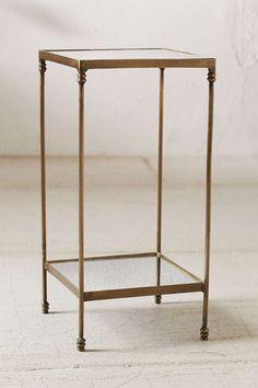 Georgina Speckled Mirror Side Table