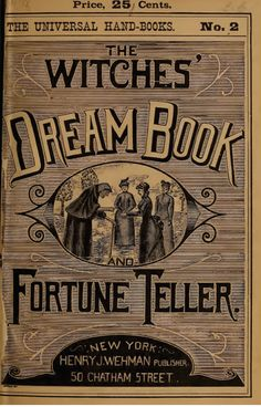Witches Dream Book
