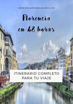 Que visitar en Florencia en 2 dias - Viajar a Florencia #itinerarios #viajar #europa #florencia #italia