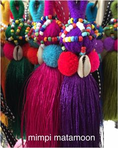 Prepping these Thai treasures! Zipper baubles to personalise your pouches RM20.00 each
