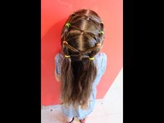Peinado fácil para niña / Easy hairstyle for girl ❤ - YouTube
