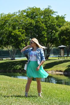 Fashion | Mermaid Inspired look | The MIAMI Rose