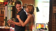 Seth Rogen and Michelle Williams as a husband and wife whose marriage becomes strained in Take This Waltz, the latest film from Canadian director Sarah Polley. I'd like to see this.