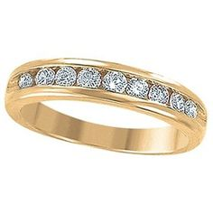 .75CT Round Diamond Anniversary Ring