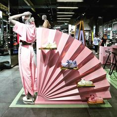 """FENTE X PUMA, UK/Europe, """"To celebrate the launch of the Fenty by Rihanna Spring/Summer Collection, Puma has unveiled a series of FentyxPuma pop-ups"""", photo by Retail Focus, pinned by Ton van der Veer"""