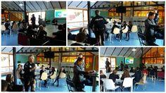 @policia en nuestro colegio hablando de #educacion #vial