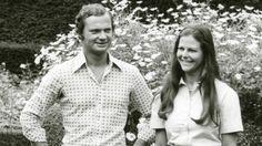 1972 lernten sich Carl Gustaf und die Deutsche Silvia Sommerlath bei den Olympischen Sommerspielen in München kennen, vier Jahre später verlobten sie sich. (Quelle: Solliden/Kungahuset.se)