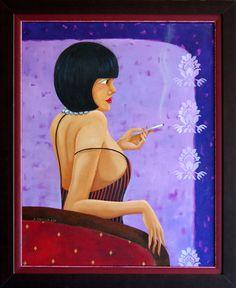 kobieta - from http://www.touchofart.eu/Anna-Mazurek-Sierocka/amaz14-kobieta/