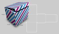 A custom box template generator, via @HowAboutOrange #diy #papercrafts #crafts