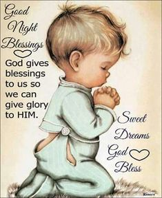Good night blessing