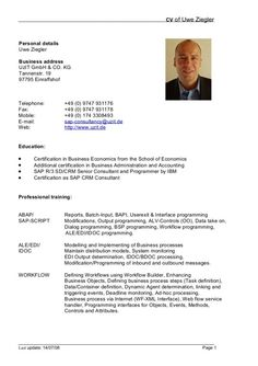 cv resume template doc - Resume Template Doc