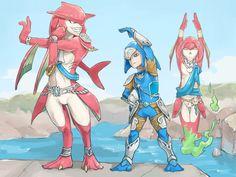 Sidon, Link and Mipha