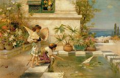 paintings of children images - Google Search