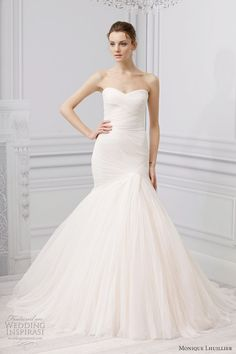 monique lhuillier spring 2013 forever wedding dress