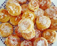 Flan, Baked Doughnuts, Good Food, Yummy Food, Sweet Pastries, High Tea, Churros, Baked Goods, Eid