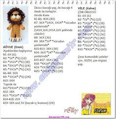 Amigurumi Ücretsiz Tarifler (free Pattern) | Amigurumi Türkiye | Sayfa 11