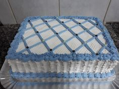 Themed Birthday Cakes, 60th Birthday, Cake Icing, Frosting, Square Cakes, Cake Decorating Tips, Cupcakes, Sweet, Unicorn Birthday Cakes