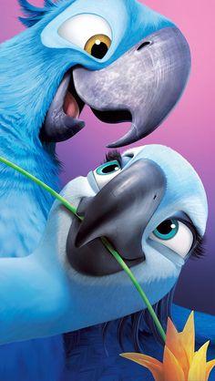 für Mobilgeräte Rio (Film) - - New Ideas Film Rio, Rio Movie, Cartoon Wallpaper, Disney Phone Wallpaper, Iphone Wallpaper, Disney Kunst, Disney Art, Disney Movies, Disney Pixar