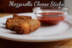 Eat Without Gluten: Gluten-free Mozzarella Cheese Sticks