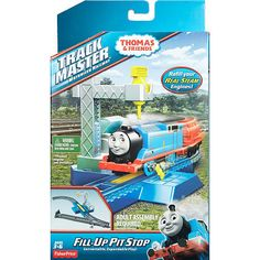 """Thomas and Friends Track Master Water Fill-Up Pit Stop Playset - Toys""""R""""Us"""