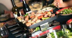 Quelques bonnes idées pour vos repas de raclette, pour un souper entre amis rapides et sans chichi