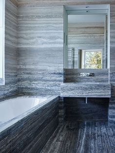 A Classical House in marble by Ben Pentreath #hellopeagreenspots #bathroom #marble