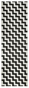 What is it about black & white rugs? Want!