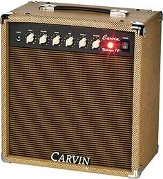 "Enter for a chance to win a Carvin Vintage 16 – $699 value! The Vintage 16 is the low-wattage, ""boutique"" recording tube amp so many players are looking for. Everything about this littl…"