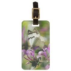 Travel in style with Butterfly luggage tags from Zazzle! Make your tags today!