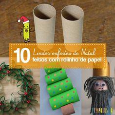 Que tal reunir as crianças e decorar sua casa se inspirando nas nossas 10 ideias de enfeites com rolinho de papel para o Natal Enfeites simples e baratos! Calendar, Holiday Decor, Diy, Home Decor, Making Memories, Birth Of Jesus, Xmas Gifts, Reindeer, Bricolage