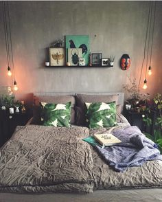 """1,266 Likes, 13 Comments - Urban Jungle Bloggers™ (@urbanjungleblog) on Instagram: """"Chill out zone mantra: add plants, cozy textiles, botanical prints, warm lights, the…"""""""